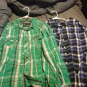 Two nice button up shirts